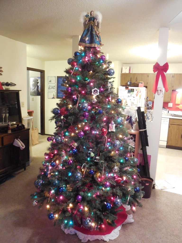 Our tree, 2013