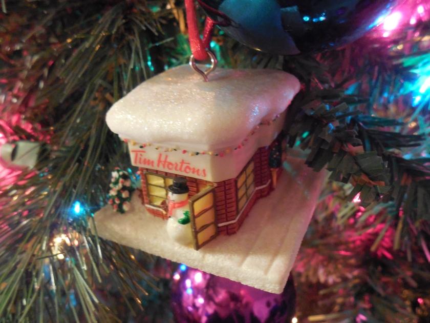 Tim Horton's Ornament