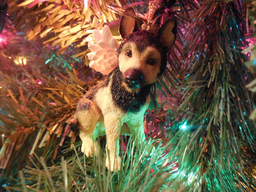 German Shepard Angel Ornament