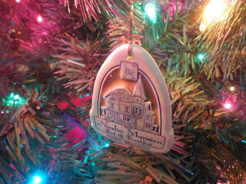 Nicolin Mansion Ornament