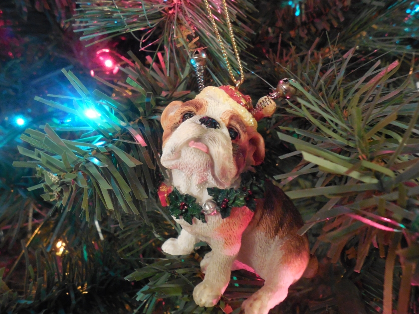 English Bulldog ornament